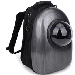 $enCountryForm.capitalKeyWord Australia - Hot Sell Astronaut Pet Cat Dog Puppy Carrier Travel Bag Space Capsule Outdoor Transparent Portable Backpack Breathable