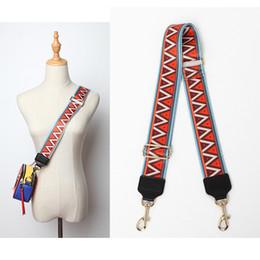 893b73e33371 2019 75-135cm Adjustable Replacement Shoulder Bag Straps Colorful Canvas  Purse Handles For Handbags Belt Bag Accessories 926