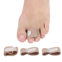 $enCountryForm.capitalKeyWord Australia - Fabric Toe Finger Straightener Hammer Toe Hallux Valgus Corrector Bandage Toe Separator Wrap Foot Care Tool