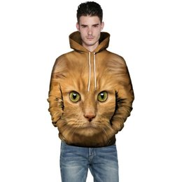 $enCountryForm.capitalKeyWord Australia - Men Women Mode 3D Cat Print Hoodie Winter autumn Sweatshirts Clothes Harajuku Animal Sweatshirt Long Sleeve Couples homme moleto