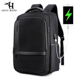 $enCountryForm.capitalKeyWord Australia - Waterproof Men Laptop Backpack Usb Charge School Backpack Large Capacity Mochila Casual Male Travel Bag