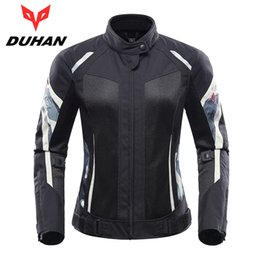 $enCountryForm.capitalKeyWord NZ - DUHAN Women Motorcycle Jacket Motorcycle Pants Suit Jacket Moto Breathable Mesh Touring Motorbike Clothing Set Protective Gear