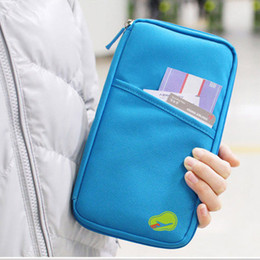 $enCountryForm.capitalKeyWord UK - Multi-function Travel Organizer Passport Holder Card Package Credit Card Holder Wallet Document Package Fashion Multi Pockets