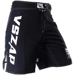 43958658c Verão Tid Novo VSZAP Shorts de Luta de Olho MMA Broadcasting Sanda Thai  Venom Lazer Luta Shorts de Fitness Workout UFC Calções Dos Homens