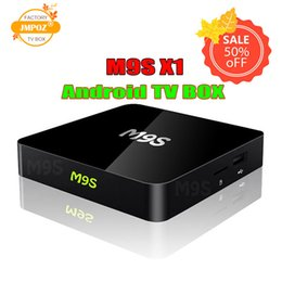 Android Free Games Australia - M9S X1 Android 6.0 TV BOX Smart Mini PC Amlogic S905X Quad Core H.265 Media Player 2.4GHz Wifi HDMI 2.0A Game 1080P DHL Free 5 PCS