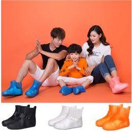 Shoe toe protectorS online shopping - Waterproof Men Shoe Covers Women Galoshes Over shoes Children Rain Boots Shoes Protectors Boys Girls Rainboots Anti Slip Silica gel Soft