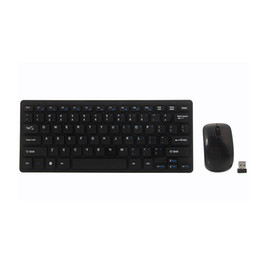 wireless keyboards for pc UK - 3 PCS Mini 2.4G DPI Wireless Keyboard and Optical Mouse Combo for Desktop HSJ-19