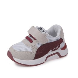 Chinese  Children Shoes Boys Girls Sport Shoes Soft Bottom Kids Shoes Casual Baby Flat Sneakers Breathable Toddler Girls Boys Sneaker manufacturers