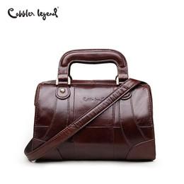 $enCountryForm.capitalKeyWord Australia - Cobbler Legend Boxy Design Genuine Leather Women Handbag Brand Fashion Shoulder Bag Crossbody Vintage Handmade Old Classic Tote