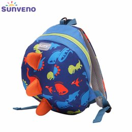 BaBy toddler Backpack safety harnesses online shopping - SUNVENO Cute Cartoon Toddler Baby Harness Backpack Leash Safety Anti lost Backpack Strap Walker Dinosaur