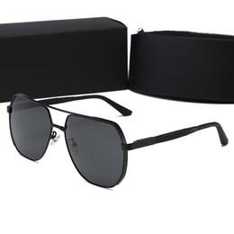 $enCountryForm.capitalKeyWord UK - High quality Glass Lens Alloy Frame Brand Designer Fashion Sunglasses For Men and Women UV400 Sport Vintage Sun glasses With box