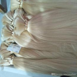 Braiding Hair Human Free Shipping NZ - 100% Virgin Human Hair Bulk Silk Straight Bulk for Braiding 300Gr Lot, Length 12''--26'' , Free Shipping