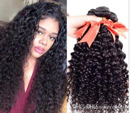 Machine Weft Indian Remy Hair Australia - ELIBESS Hair Products 1Bundle Indian Straight Hair 8-30 inch Non-Remy 100% Human Hair curly Weave Bundles Machine Double Weft