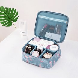 $enCountryForm.capitalKeyWord NZ - SHUJIN Flamingo Cactus Large Capacity Makeup Bag Toiletry Cosmetic Box Travel Makeup Organizer Outdoor Container Case Handbag