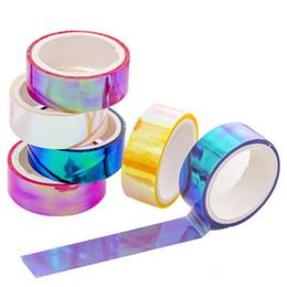 Großhandel Wasserdichtes Klebeband Farbe Washi Klebeband Diy dekorative Scrapbooking Masking Tape Farbe Label Aufkleber Schreibwaren