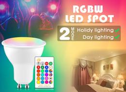 $enCountryForm.capitalKeyWord Australia - 8W LED Changeable spotlight RGB+White GU10 220 110V Smart Magic Showcase Decorative Lighting Dimmable IR Control home light bulb