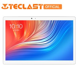 Teclast T20 4G LTE Network PC de verrouillage d'empreintes digitales MT6797 X27 Deca Core 4GB ROM 64GB RAM Dual WiFi 13.0MP 10.1 pouces GPS