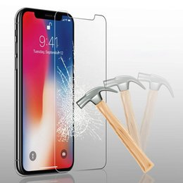 $enCountryForm.capitalKeyWord Australia - SZAICHGSI Tempered Glass For iphone X 8 7 6 6s Plus Glass For iPhone XS MAX 5S 5 SE 5C 4 Front and back screen protector Protective Film