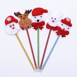 light up headband christmas 2019 - Christmas Headband Light Up Hat Glasses Pen Brooch Accessories Decoration For Party Holiday TN99 discount light up headb
