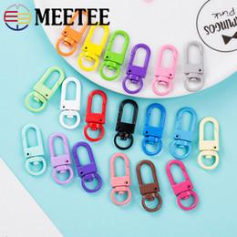 $enCountryForm.capitalKeyWord Australia - Meetee 34*13mm Metal Spring Swivel Ring Buckles For Bags Strap Key Chain Snap Clip Hook DIY Jewelry Craft Luggage Accessories