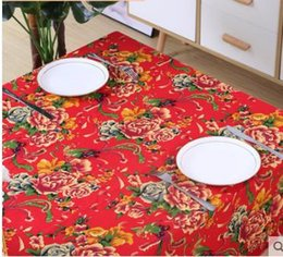 vintage cotton tablecloths Australia - Cotton and linen cloth clothing fabric Bohemia vintage ethnic cloth qipao linen yunnan ethnic style tablecloth