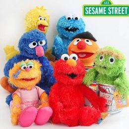 Thanksgiving cookies online shopping - Hot New Styles quot quot CM CM Sesame Street Plush Doll Ballerina Zoe Bert Big Bird Cookie Monster Elmo Emie Beanie Grover Oscar Toys
