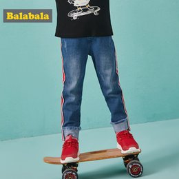 $enCountryForm.capitalKeyWord NZ - Balabala Regular Hole Jeans Pants With Cuffs For The Boy Fashion Slim Jeans Leggings For Boys Enfant Autumn Trousers For Kids J190517