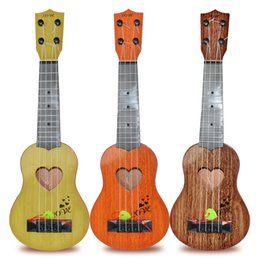 $enCountryForm.capitalKeyWord NZ - Simulation Ukulele Beginner Playable Men And Women Guitar Toy Musical Instruments Kids Toys Gift Trial Order 5 5dh M1 E1