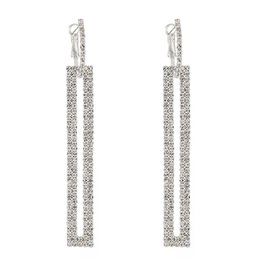 8f1f44cf01 Shop Rhinestone Chandelier Drop Earrings UK   Rhinestone Chandelier ...