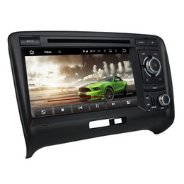 "Audi Car Mp3 Australia - 4GB RAM 64GB ROM Octa Core 2 din 7"" Android 8.0 Car DVD Player for Audi TT 2006-2013 Radio GPS 4G WIFI Bluetooth TV USB DVR Mirror link"