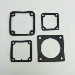engine gasket set Australia - Outlet Port Square Seal Gasket Fits for Gasoline or Diesel Engine Powered 2 inch 3 inch 2 (In.) Water Pump Set