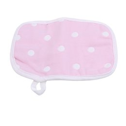 cotton gauze wholesale UK - New Baby Shower Gloves 6-layer Gauze Baby Bath Towel Double-sided Cotton Bath Wipe Towel