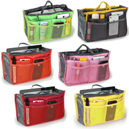 Bag inserts large online shopping - Handbag Organiser Insert Liner Travel Bag Organizer Large Purse Ladies Cosmetic