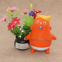 Discount children soft toys - Trump Stress Soft Novelty Funny Toy Slow Rebound Squeeze Toy Reduce Pressure Stress Relief Squeeze Toy For Adult Childre
