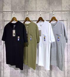 $enCountryForm.capitalKeyWord Australia - CJ1929 New Carhartts SMALL logo PACCBETS t shirts Autumn Spring New T-shirt Men Women Pullover Loose Hip Hop Streetwear tee Tops Sizes S-XL