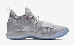 2e4a165e8b8 2019 Release PlayStation x PG 2.5 Wolf Grey Basketball Shoes For Men  Authentic Best Quality Sports Sneakers With Original Box BQ8388-001