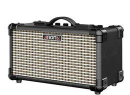 Qualitäts-Aroma TM-15A Holzgehäuse Schaltkastens folk akustische Gitarre Lautsprecher tragbares Audio Bluetooth-Lautsprecher Lade im Angebot