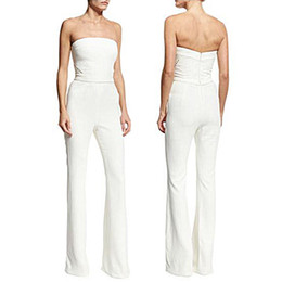 $enCountryForm.capitalKeyWord Australia - Elegant Summer Romper Jumpsuit Woman 2018 White Summer Bodies Woman Sexy Solid Overalls for Women