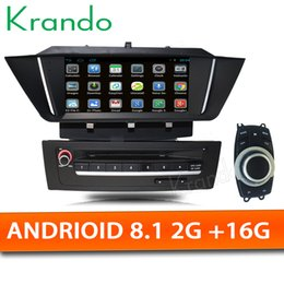 "car audio dvd for bmw NZ - Krando Android 8.1 7"" car DVD radio player GPS for BMW X1 E84 2009-2013 radio stereo audio navigation system WIFI Bluetooth"