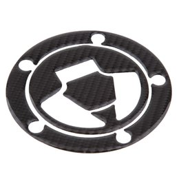 fuel tank motorcycle sticker Australia - Motorcycle Carbon Fiber Fuel Tank Cap Cover Pad Sticker Decal for Yamaha R1 R6