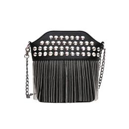 $enCountryForm.capitalKeyWord UK - Rock Style Messenger Bag Sequins and tassel Crossbody Bag For Women Fahion Sexy Vintage Yuong Girls Small Shoulder Bag