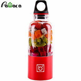 Chinese  500ml Electric Cup Mini Portable Usb Rechargeable Juicer Blender Maker Shaker Squeezers Fruit Orange Juice Extractor Q190524 manufacturers