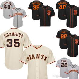 Crawford jerseys online shopping - Men s San Francisco Baseball Giants Brandon Crawford Majestic Tan Alternate Cool Base Player Jersey Posey Madison Bumgarner