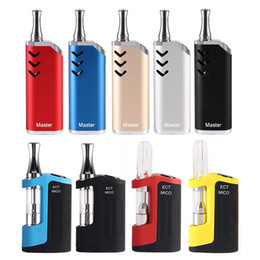 ElEctronics online shopping - 100 Original ECT Mico Kit Vape Mod for Thick oil mAh Box Mod vape cartridges Thread Battery Ceramic coil Electronic Cigarette