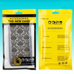 Wholesale Boxes Packaging Australia - 12*21cm Plastic Retail Packaging Bags Hand Hole Cases Package Zipper Lock OPP Bag PVC Packing Boxes for iPhone XS X 8 Samsung Cell Phone