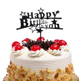 $enCountryForm.capitalKeyWord Australia - 20pc Cake Toppers Flags Star Happy Birthday Kids Gold Black Acrylic Cupcake Topper Wedding Bride Party Baby Shower Baking DIY