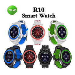 Bluetooth Smart Watch Sim Australia - R10 Smart Watch Bluetooth Smartwatch Support SIM Card Camera Pedometer Fitness Tracker Android Smart Watches SMS Reminder