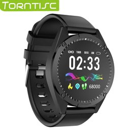 android smart watch for woman 2019 - Torntisc 1.3 Inch Single Touch Screen Smart Watch Men Women For Android IOS Heart Rate Blood Pressure Oxygen Tracker Sma