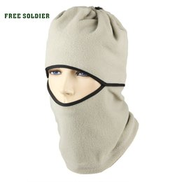 Soldier maSkS online shopping - FREE SOLDIER Cs wigs cap outdoor wigs ride cap multifunctional thermal pocket hat face mask