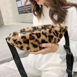 printed waist bag Australia - Women Leopard Print Waist Bag Women Fashion Pockets Dual-use Mobile Phone Bag Purse Chest Crossbody Versatile Pockets